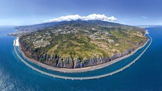 Зачем французы строят дорогу вокруг острова? Реюньон - кусочек Франции в Индийском океане.