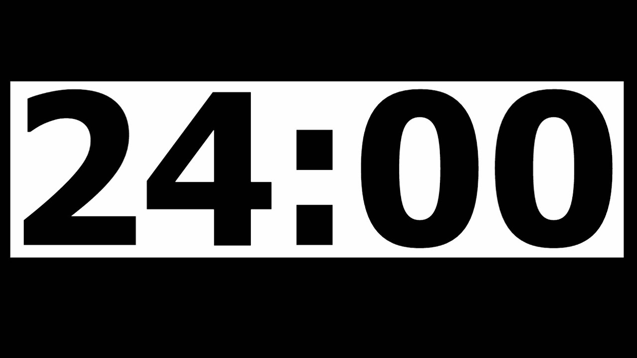 3 minutes countdown timer
