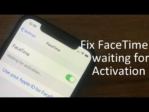how to activate FaceTime iPad, iPhone X, iPhone XR, iPhone 8,7,6,