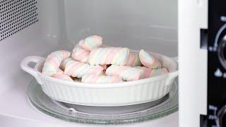30초 마시멜로우 굽기   전자레인지 초간단 #마시멜로…