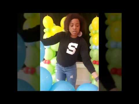(Airfilled/Frameless Balloon Arch) Quicklink Square Balloon Arch