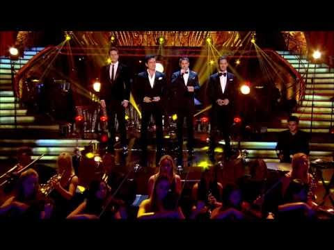 """Il Divo - Performing """"Tonight"""" On BBC1 - 2013.11.24 Also Bit.ly/1dxFjoK"""