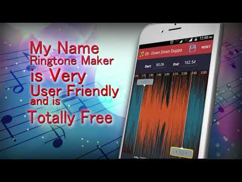 Ringtone Cutter , My Name Ringtone Maker Maker with Voice Caller Name Announcer