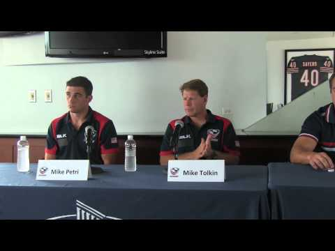 USA Eagles Rugby World Cup Press Conference