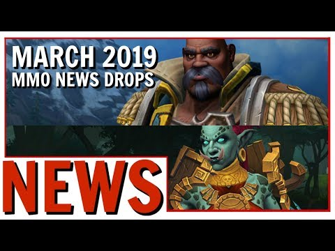 MMO News Drops: WoW Allied Races | BDO Free Copy | B&S Free 60 Boost | DDO Xpac and More