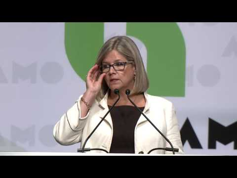 Andrea Horwath, Leader Ontario NDP