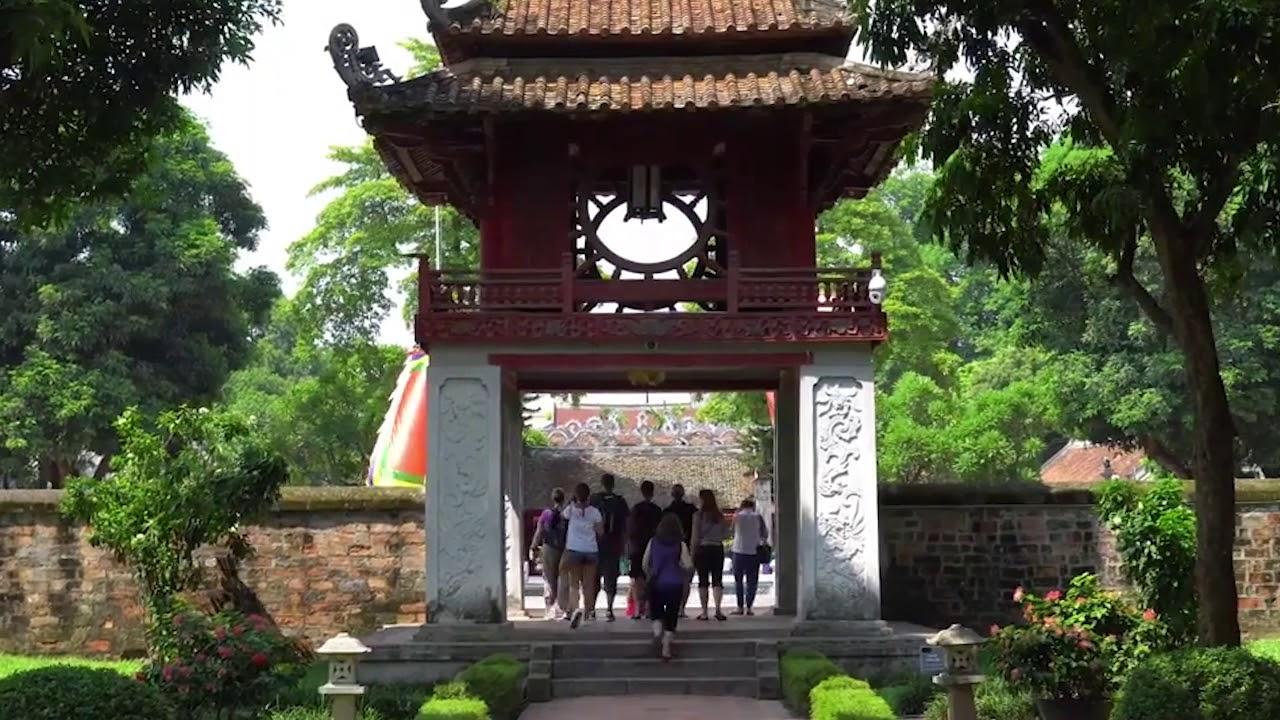 Thuyết Trình Văn Miếu Quốc Tử Giám – Sinh Viên khóa 1 Ceo Tourist | Trường Doanh nhân Ceo Việt Nam