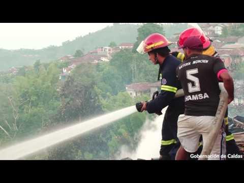 Declaran calamidad pública tras incendio en Salamina, Caldas