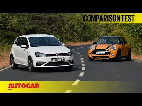 Mini Cooper S vs Volkswagen GTI | Comparison Test | Autocar India