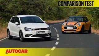 Mini Cooper S vs Volkswagen GTI | Comparison Test | Autocar India