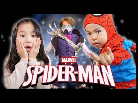 なりきり スパイダーマン#2 スーパーヒーローりんたん 対決編 Bonitos TV×Pierre TV かのん&りんたん 寸劇 ♥ -Bonitos TV- ♥