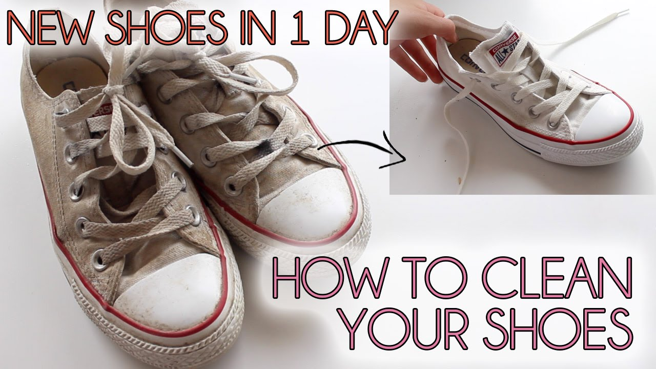 b0fbd291b8867e How to clean your shoes EASY