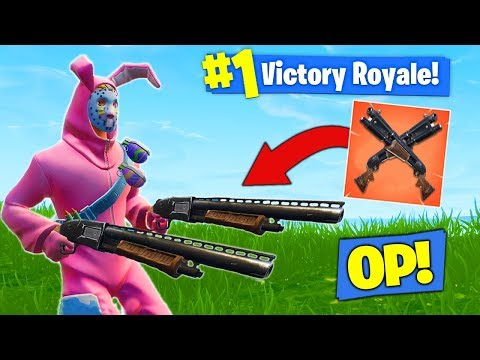 The *NEW* DOUBLE PUMP STRATEGY In Fortnite Battle Royale!