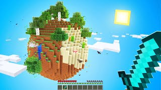 Surviving On A PLANET In Minecraft!
