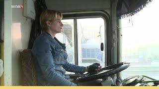 Как работают женщины-водители автобусов в Якутске
