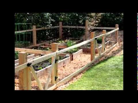 Small garden fence ideas youtube for Short garden fence designs