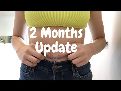 Two Month Belly Piercing Update