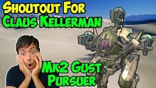War Robots Mk2 Gust Gameplay & World of Tanks? Claus Kellerman WR WoT