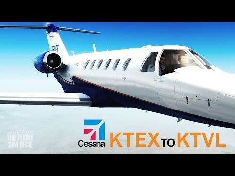 Prepar3D | Telluride KTEX to KTVL | Carenado 525A Citation CJ2