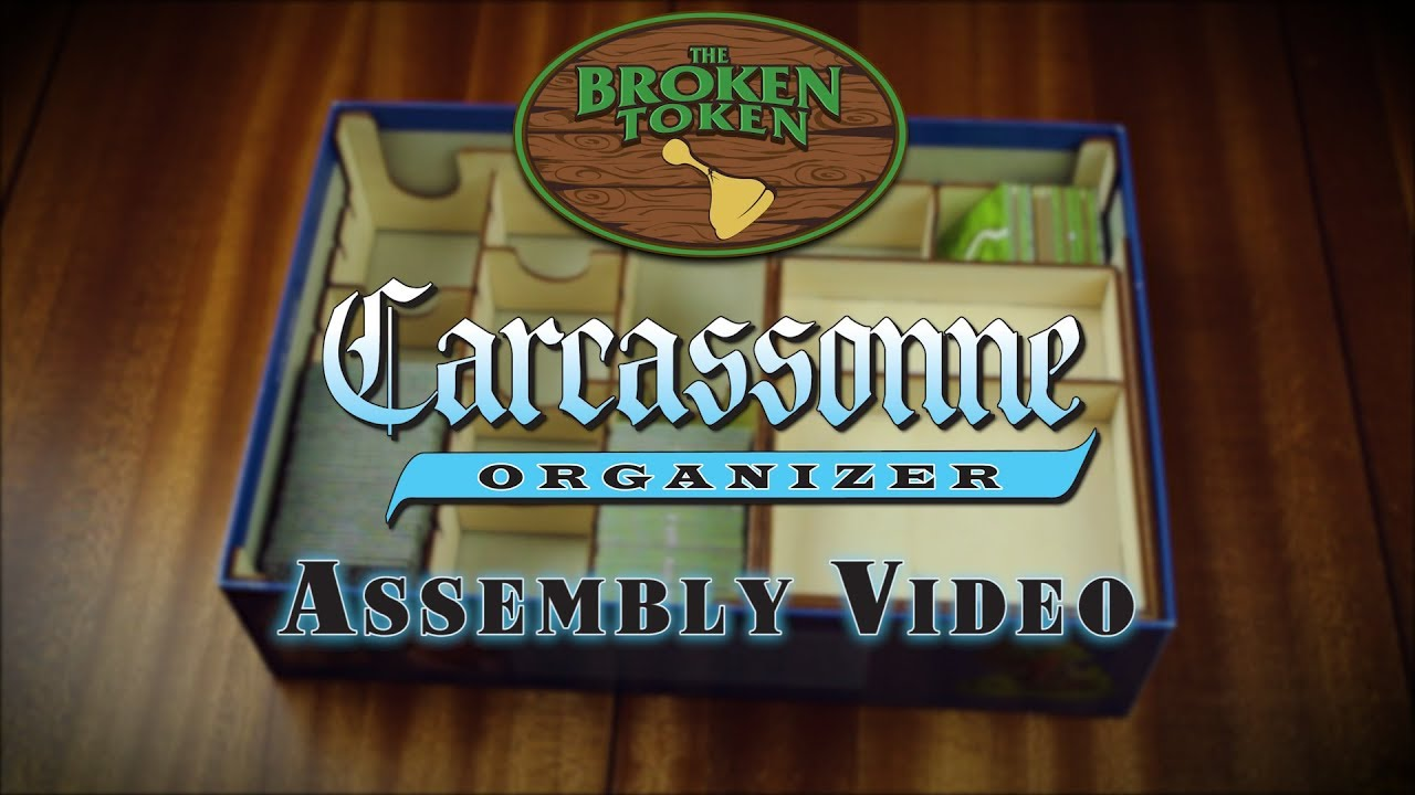 Carcassonne Organizer Assembly Video Youtube