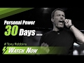 Tony Robbins Personal Power 30 Days To Total Success mp3