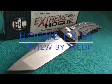 Hogue EX-01 Tanto Review -  Quality Defined!