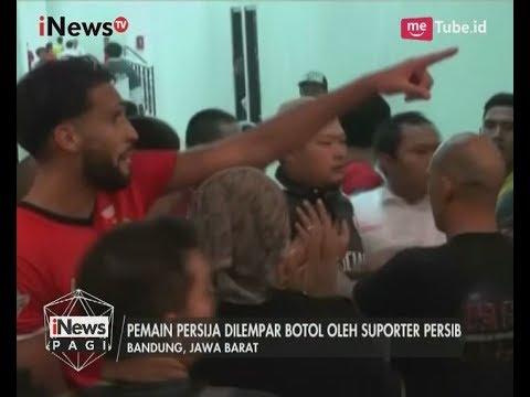 Pemain dan Official Persija Kejar Suporter Persib - iNews Pagi 23/07