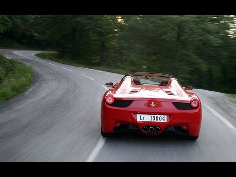 2012 Ferrari 458 Spider - First Drive