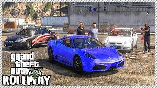 GTA 5 ROLEPLAY - Arrested at Redline Garage | Ep. 494 Civ