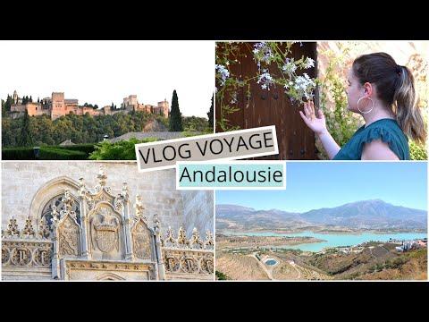VLOG VOYAGE ~ GRENADE, ANDALOUSIE (ESPAGNE) 📍