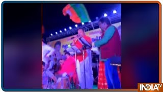 LS Polls 2019: BJP spokesperson Sambit Patra turns singer for voters in Puri