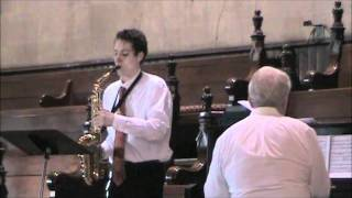 "FSPC - 07 Aug 2011 - Anthem - ""Recitative and Allegro"" (Paul Koepke) - Andre Zapico, saxophone"