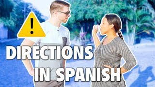 Directions in Spanish (How to Ask for Directions if Lost and More)