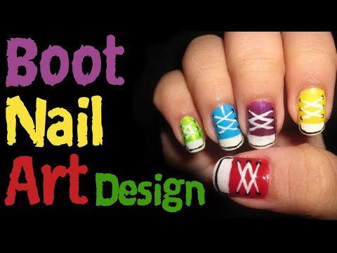 Boot Nail Design Tutorial thumbnail
