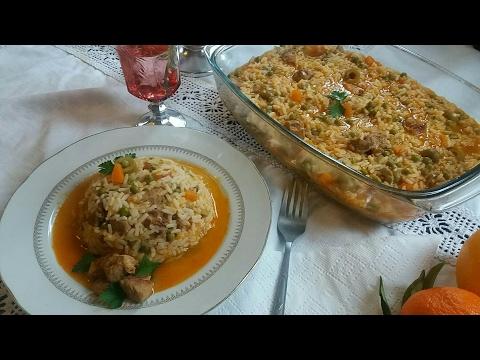 riz-au-poulet-a-l'algerienne-ارز-بالدجاج-على-الطريقة-الجزائرية