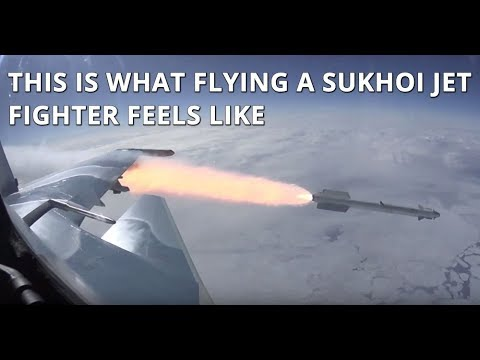 Watch Stunning Footage of New Manuevers of Russian Jets Su-35 And Su-30SM