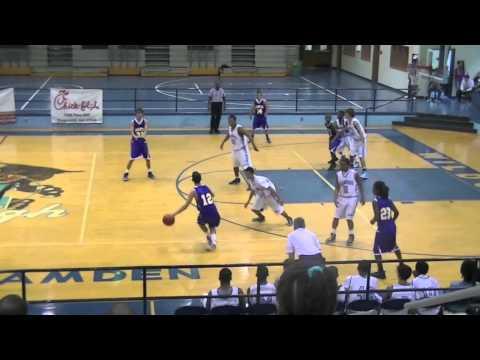 Camden County JV Basketball Team Vs Fernandina