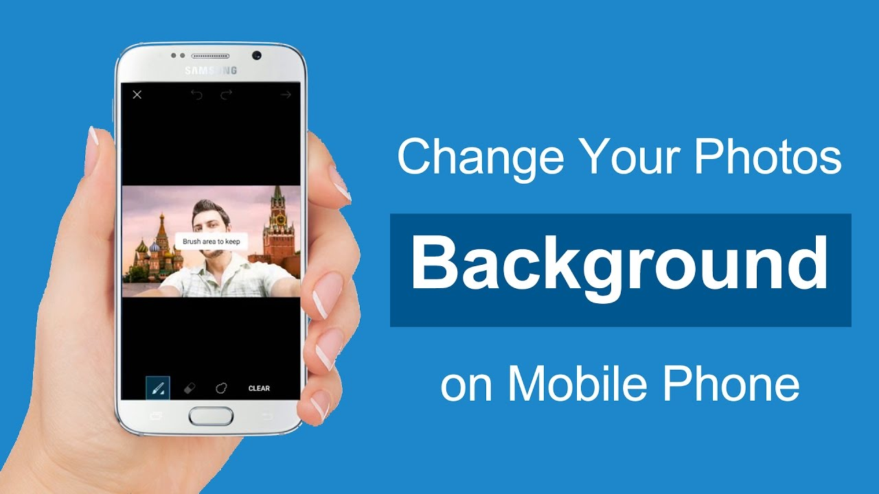 How To Change Photo Background On Mobile With Picsart