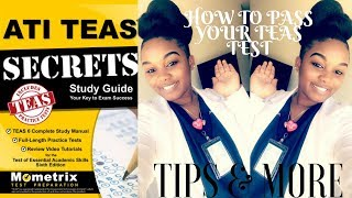 Teas Test Tips & More|📚How I Passed my Teas Test!!!