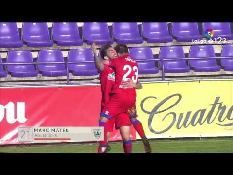 Resumen de Real Valladolid vs CD Numancia (1-1)