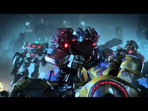 Transformers Fall of Cybertron Cinematic Trailer with Puscifer's