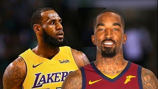 LeBron James Returns to Cleveland After Joining Lakers (Parody)