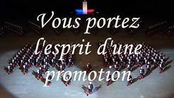 Chant de la promotion Chef d'escadron Francoville (ESM de Saint-Cyr)