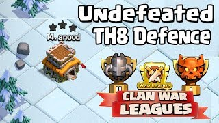 NEW TH8 WAR BASE 2018 Anti 3 STAR | Town Hall 8 (TH8)  WAR  BASE CLASH OF CLANS