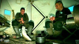 Вот это КАБАН на мормышку леска 02 мм. Якутия Yakutia