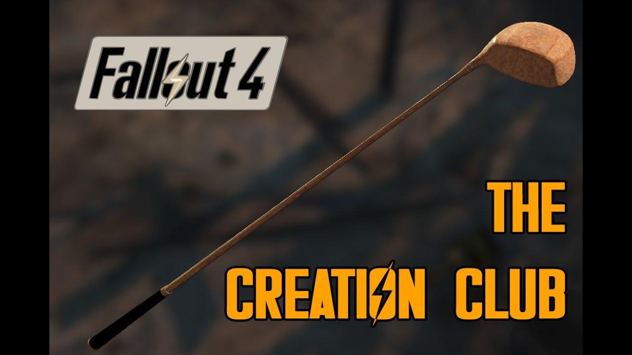 Fallout 4 Modder Creates a Literal 'Creation Club' | Game Rant