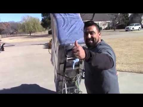 How To Wrap & Move A Heavy Dresser  Downstairs By Professional Mover | Rescue Moving Services