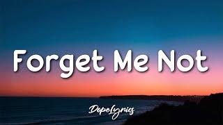 WizG feat. Jantine - Forget Me Not (Lyrics) 🎵