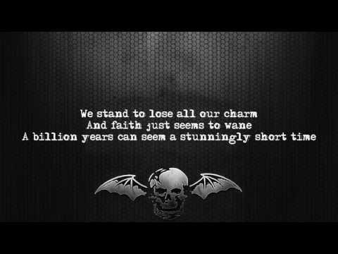 Avenged Sevenfold - Simulation [Lyrics on screen] [Full HD]