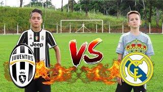ALADDIN vs BOLIVIA  Juventus vs Real Madrid  Desafios de Futebol